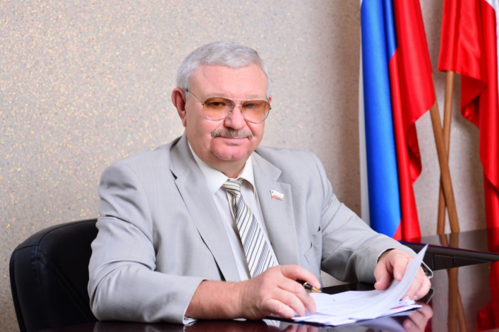 Поздравление С.Б. Суровова с Днем защитника  Отечества