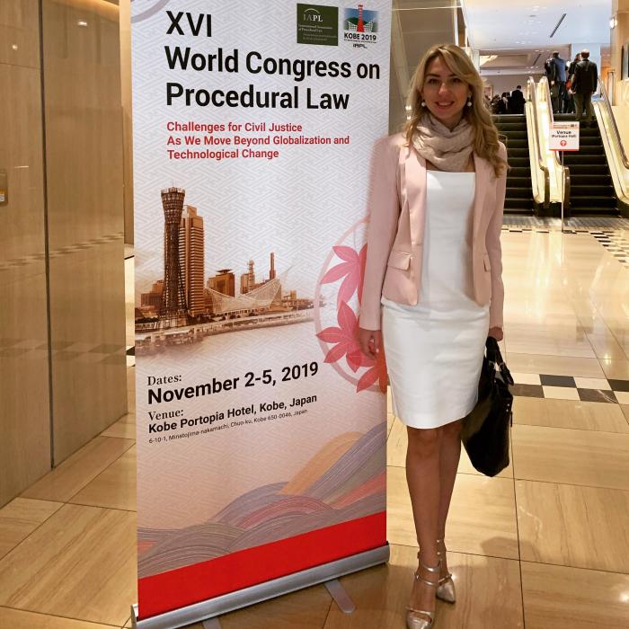 Профессор СГЮА выступила на всемирном конгрессе в Японии