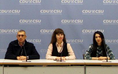 Студентка академии прошла стажировку в Германии