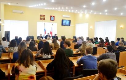 В СГЮА прошла открытая лекция судьи Саратовского областного суда С.В. Паршиной