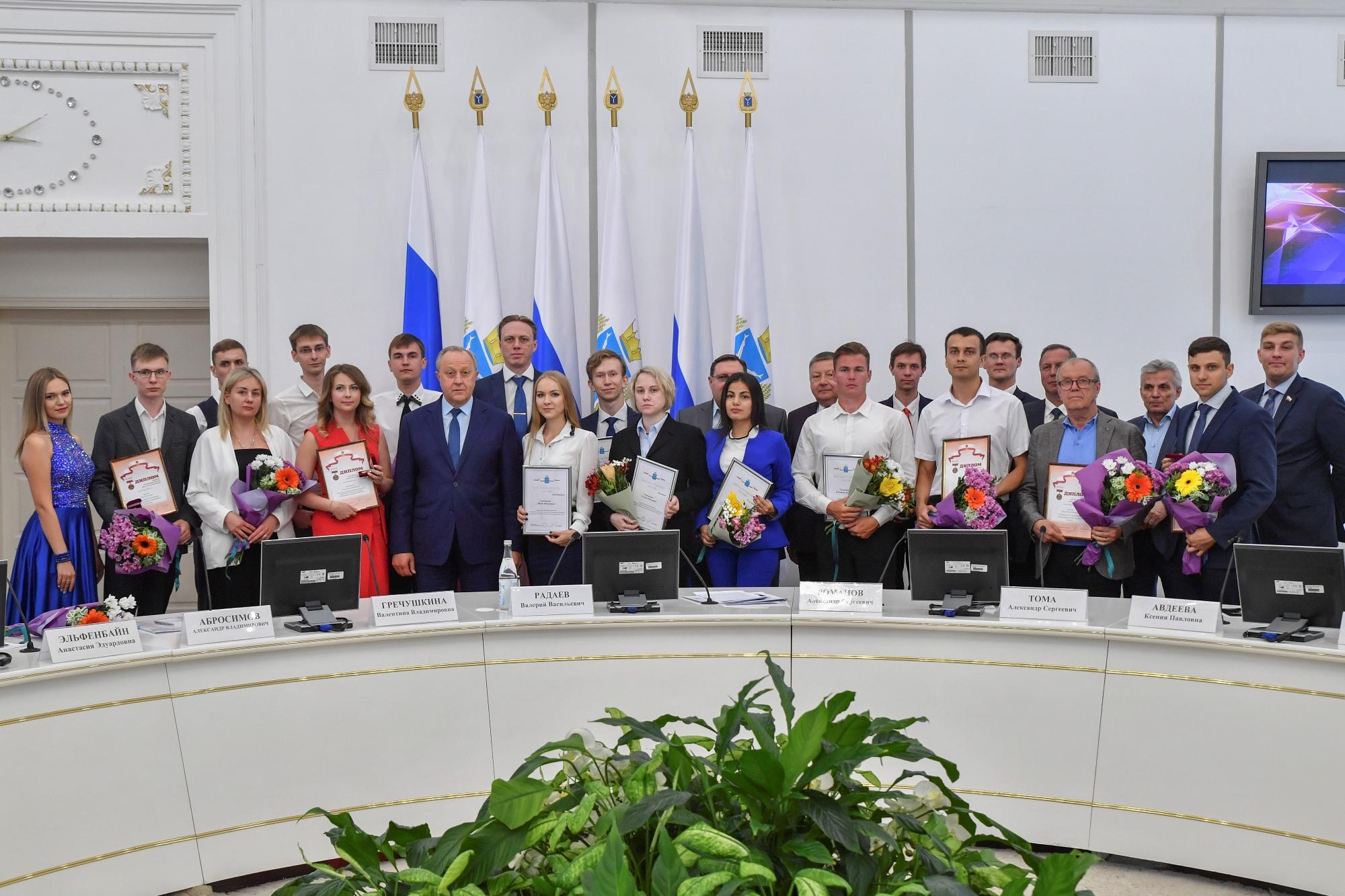 Студентка ИМА награждена благодарственным письмом губернатора Саратовской области