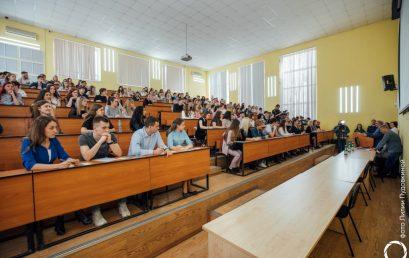 СГЮА собрала на Тотальном диктанте более тысячи саратовцев