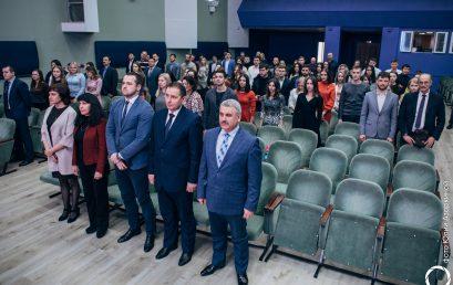 В Институте состоялась торжественная церемония вручения дипломов магистра