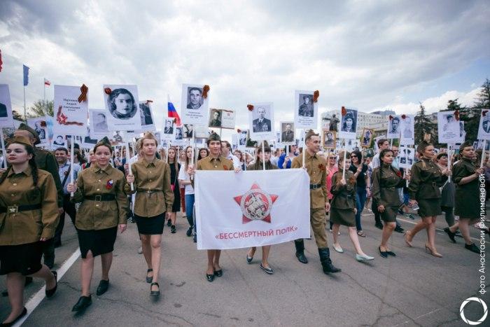 СГЮА приняла участие в праздничных мероприятиях Дня Победы