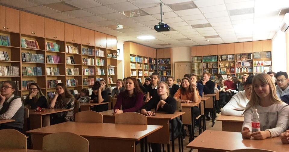 Студенты Института провели уроки об истории основного закона государства в рамках Основного Закона страны
